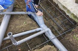 Монтаж канализации в частном доме под ключ Одинцово