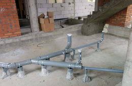 Монтаж канализации в коттедже под ключ Одинцово