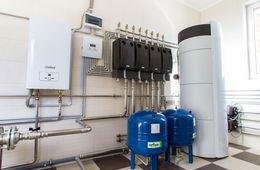 Монтаж системы отопления в коттедже Одинцово