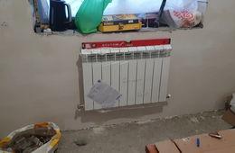 Монтаж радиатора отопления в частном доме Одинцово