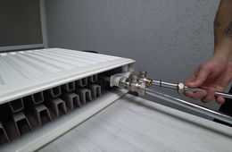 Монтаж радиаторов отопления с нижней подводкой Одинцово
