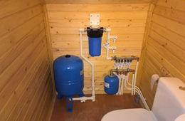 Монтаж водоснабжения в частном доме Одинцово