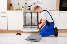 Навеска фасада на посудомоечную машину Одинцово
