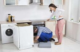 Подключение посудомоечной машины к коммуникациям Одинцово