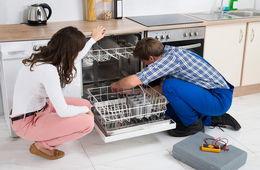 Установка посудомоечной машины в кухню Одинцово