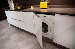 Установка стиральной машины на кухне Одинцово