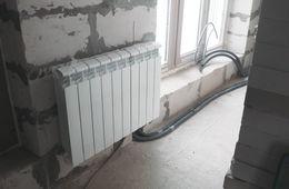 Замена радиаторов отопления в квартире Одинцово
